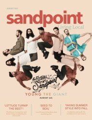 August 2021 Sandpoint Living Local