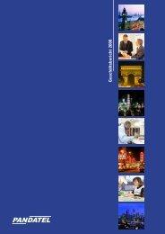 Geschäftsbericht 2000 - Pandatel AG