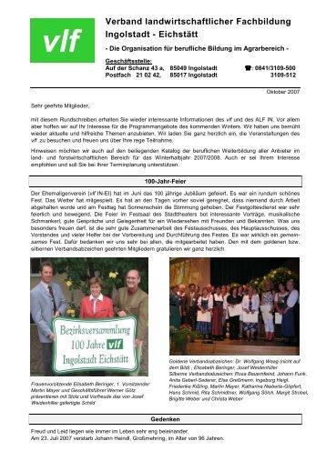 Verband landwirtschaftlicher Fachbildung Ingolstadt - Eichstätt