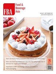 Food & Beverage Asia August/September 2021