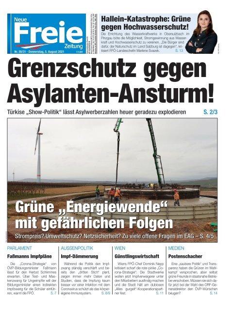 Grenzschutz gegen Asylanten-Ansturm!