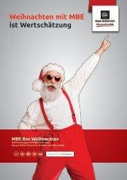 MBE Box Weihnachten | Katalog 2021