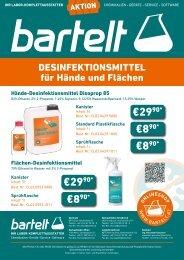 Desinfektionsmittel für Hände- und Flächen von Chem-Lab