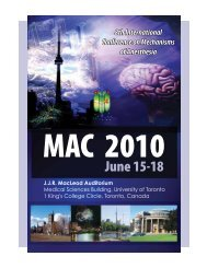 8th International Conference on Mechanisms of Anesthesia - CEPD ...