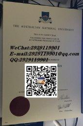 澳大利亚国立大学毕业证样本(Australian National University) 澳洲大学文凭成绩单