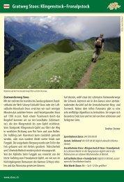 Gratweg Stoos: Klingenstock–Fronalpstock - Schwyzer Wanderwege