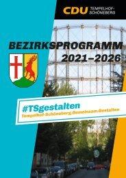 Bezirksprogramm 2021-2026