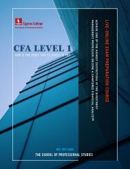 CFA Level 1 Live Online Instructor Led Exam Preparation Course | Μay 2022 Exams | Final Release