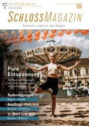 SchlossMagazin Augsburg Nordschwaben + Fünfseenland August + September 2021