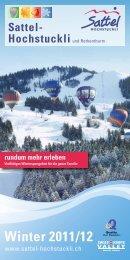 Winter 2011/12 - Sattel Hochstuckli