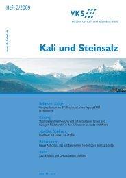 Kali und Steinsalz - K+S Group