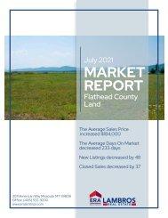 Flathead County Land July2021