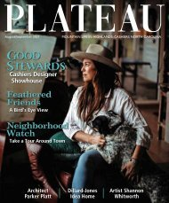 Plateau Magazine Aug-Sept 2021