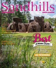 Sandhills Magazine Aug-Sept 2021