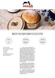 Rezept_Luftiges Brot in Mini-Cocotte