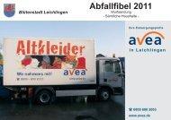 Abfallfibel 2011 - Leichlingen