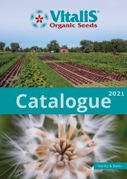 Catalogue Organic Seeds Nordic & Baltic 2021