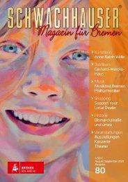 Schwachhauser I Magazin für Bremen I Ausgabe 80