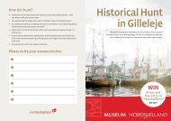 Historical Hunt in Gilleleje