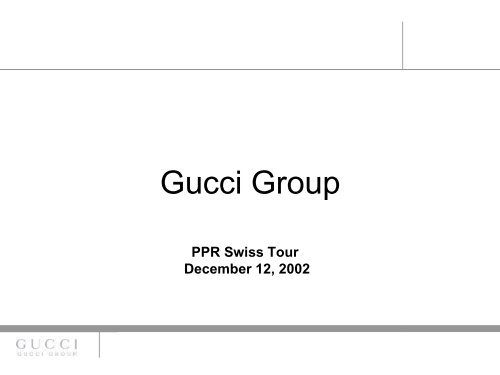 who owns gucci
