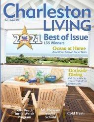 Charleston Living Magazine July-Aug 2021