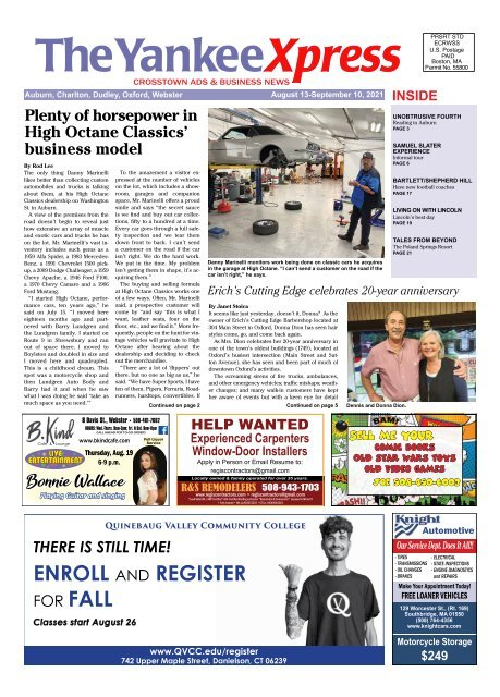 The Yankee Xpress August 13, 2021 Issue