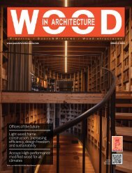 Wood In Architecture Issue 2, 2021