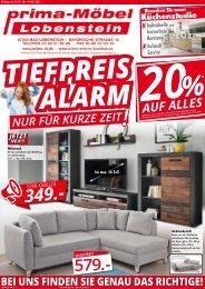 Tiefpreisalarm bei Prima Möbel!