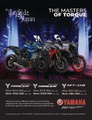Yamaha Tracer Specials