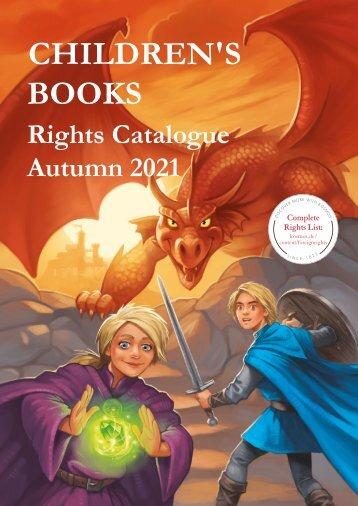 KOSMOS Foreign Reights Catalogue   Children's Books Autumn 2021