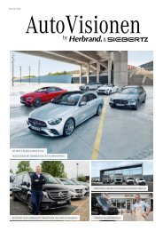 AutoVisionen 18 - Das Siebertz Kundenmagazin
