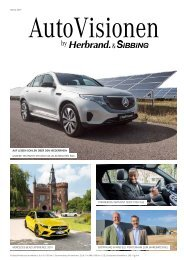 AutoVisionen 17 - Das Sibbing Kundenmagazin