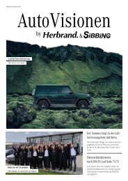 AutoVisionen 15 - Das Sibbing Kundenmagazin