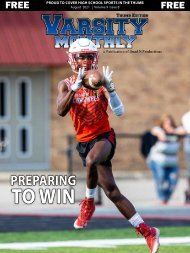 August 2021 Issue of Varsity Monthly Thumb Magazine