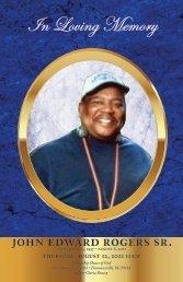John Rogers Sr. Memorial Program