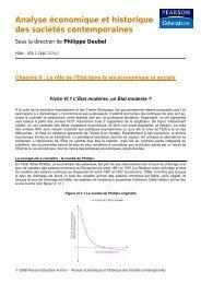 Analyse économique et historique des sociétés ... - Pearson