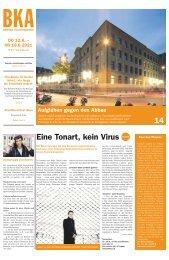 Berner Kulturagenda N°27