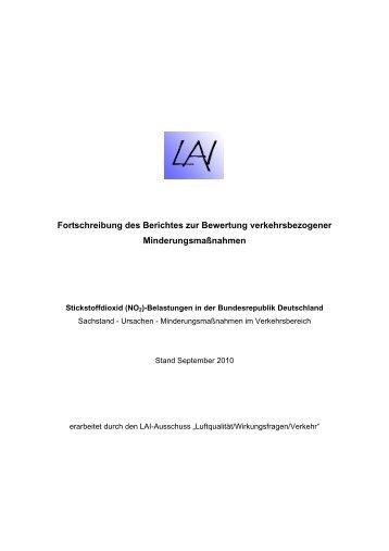 Stickstoffdioxid (NO 2 ) - LAI