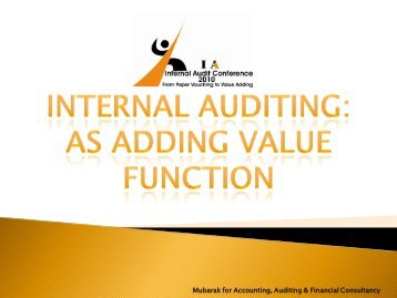 Mubarak for Accounting, Auditing & Financial ... - AloulaFAS.com