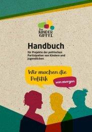 Kindergipfel Handbuch