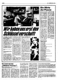Gundermann Interview in der LAUSITZER RUNDSCHAU