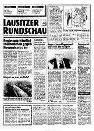LAUSITZER RUNDSCHAU Titelseite 5. Januar 1990