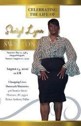 Sheryl Swinton Memorial Program