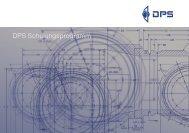 Schulungsprogramm (PDF) - DPS Software Gmbh