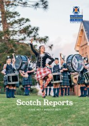 Scotch Reports Issue 180 (August 2021)