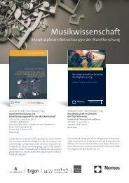 Musikwissenschaft