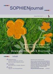 SOPHIENjournal - Sophien-Kliniken Hannover