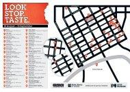Look. Stop. Taste map