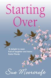 Starting Over by Sue Moorcroft - Choc Lit