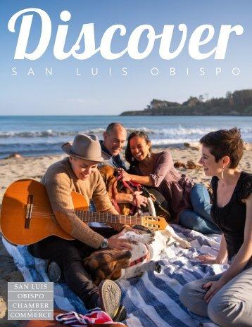 Discover: San Luis Obispo Chamber of Commerce Visitors Guide 2021/2022